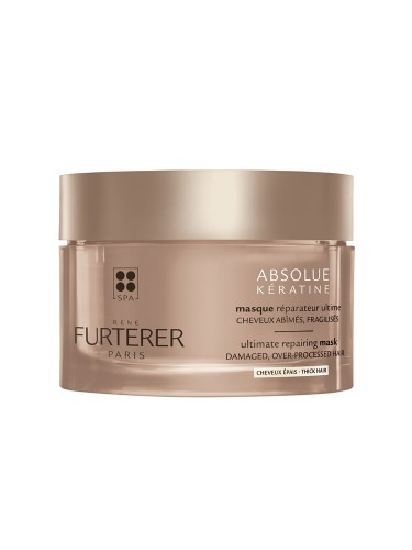 Absolue keratine mascarilla regeneracion extrema - rene furterer cabello grueso (200 ml)
