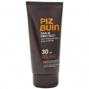PIZ BUIN TAN & PROTECT FPS - 30 PROTECCION MEDIA - LOCION SOLAR INTENSIFICADORA DE BRONCEADO (150 ML