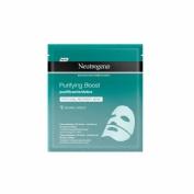 Neutrogena purifying boost hydrogel recovery - mask purificante/detox (30 ml)