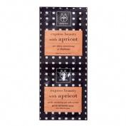 Apivita mascarilla facial exfoliante suave apricot 2x8 ml