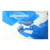 PROTECTOR DE CAMA - SABANINDAS (60 X 40 25 U)