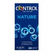 CONTROL ADAPTA NATURE - PRESERVATIVOS (24 U)