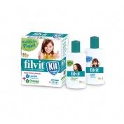 Filvit kit tratamento total locion + champu (kit 100 ml + 100 ml)