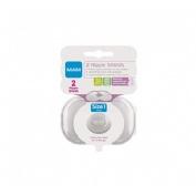 Pezonera silicona - mam nipple shields (2 u t- peq)
