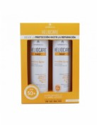 Pack duplo heliocare 360º spf 50+ invisible spray protector solar 200 ml