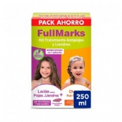 FULLMARKS ANTIPIOJOS Y LIENDRES CHAMPU + LOCION - PEDICULICIDA (KIT 100+150 ML)