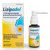LIZIPAINA AMBROXOL 17,86 MG/ML SOLUCIÓN PARA PULVERIZACIÓN BUCAL  , 20 ml