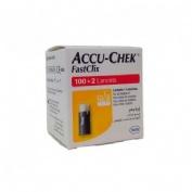 Accu-chek fastclix lancetas (102 lancetas)