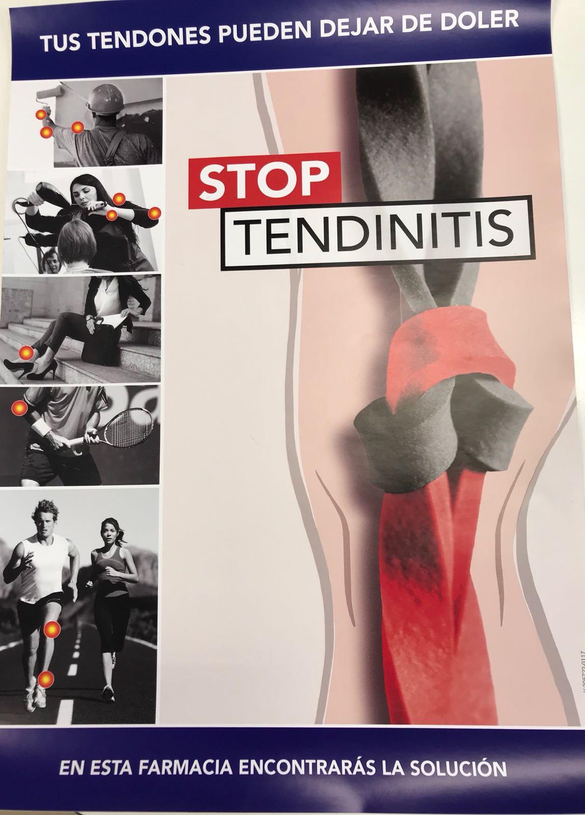 stop tendinitis